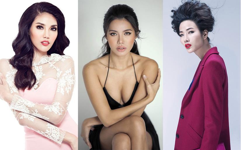 Siêu mẫu Minh Tú và Hoàng Thùy Next Top Model 1