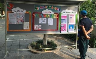 """Phụ huynh Trường Phổ thông Đoàn Thị Điểm Ecopark: """"Xin đừng kinh doanh trên bữa ăn của con chúng tôi"""""""