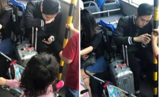Quang Vinh phản pháo về bức ảnh không nhường ghế cho trẻ nhỏ: