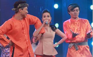 Cẩm Ly phấn khích với cô gái hát nhạc dân ca theo phong cách pop