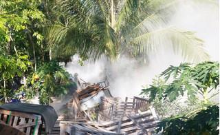 Ném bom xăng vào cảnh sát cưỡng chế vì... đòi 500 triệu đền bù