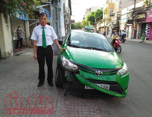 Chân dung tài xế taxi đâm gục tên cướp