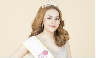 Á hậu Hương Lê doanh nhân Thế giới khoe nhan sắc rạng rỡ sau đăng quang