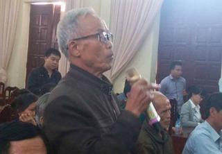 Chủ tịch Hà Nội cam kết xử lý công tâm sự việc ở Đồng Tâm