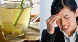Công thức pha trà từ củ sả, người đau đầu kinh niên như búa bổ cũng dễ chịu ngay lập tức