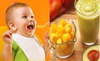 5 món ăn dặm từ quả xoài giúp con có đôi mắt sáng long lanh và tăng cường sức đề kháng