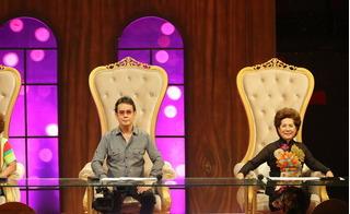 Phương Dung và Đức Huy bất đồng ý kiến về việc ca sĩ hát sai lời