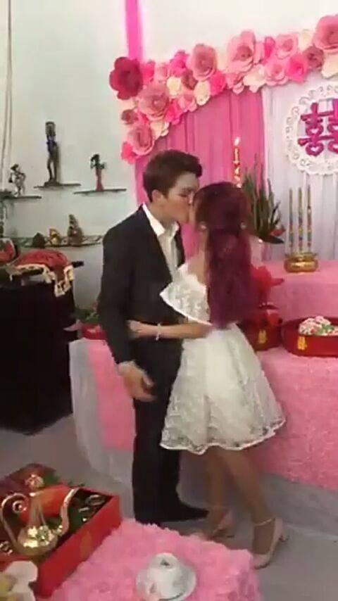 Khởi My và Kelvin Khánh kết hôn 2