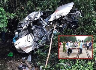 Giây phút kinh hoàng của Trưởng tàu trong vụ xe ô tô 7 chỗ bị tàu hỏa đâm ở Bình Định