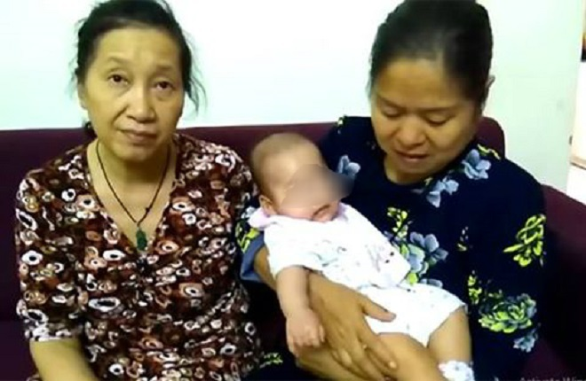 Bé gái 6 tháng tuổi bị bỏ rơi