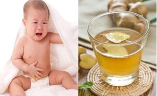 Gừng tươi: Phương thuốc quý trị tiêu chảy cho người lớn và trẻ nhỏ cực hiệu quả