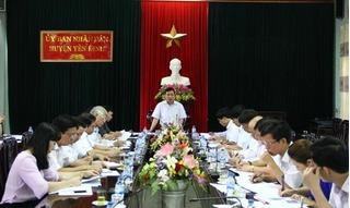 Thanh Hóa: Cảnh cáo Chủ tịch huyện vì hàng loạt sai phạm trong tuyển dụng công chức