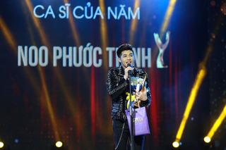 Noo Phước Thịnh ''vượt mặt'' Hà Hồ giành giải Cống hiến 2017