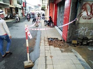 Đà Lạt: Di dời khẩn cấp hàng trăm người khỏi khu vực sụt lún giữa trung tâm thành phố