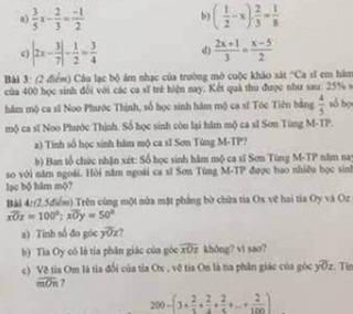 Lại xuất hiện trong đề thi, Sơn Tùng M-TP ẵm giải...