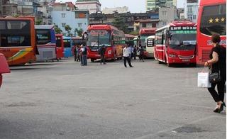 Các bến xe ở Hà Nội trong ngày đầu nghỉ lễ đìu hiu khách