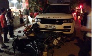 Thanh niên nghi ngáo đá cướp Range Rover đại náo Hà thành, ít nhất 4 xe máy gặp vạ