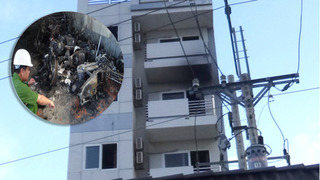 Khách sạn Viễn Châu chìm trong biển lửa, khách hoảng loạn lao cửa sổ thoát thân