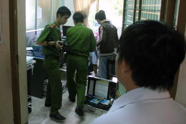 Trộm đột nhập trụ sở UBND phường 1