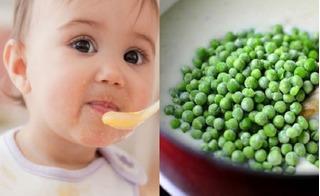 3 món ăn dặm vô cùng dinh dưỡng từ đậu Hà Lan giúp trẻ ăn thun thút
