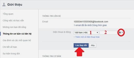 bảo mật Facebook trên điện thoại 4