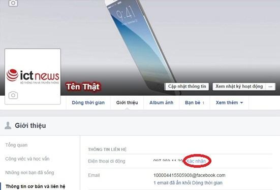 bảo mật Facebook trên điện thoại 5