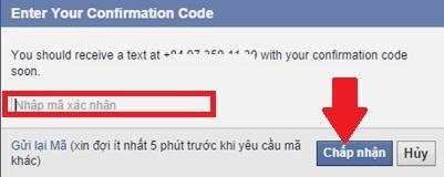 bảo mật Facebook trên điện thoại 7
