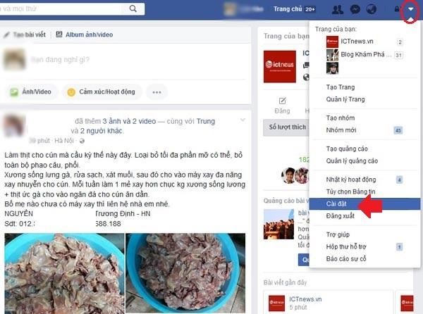 bảo mật Facebook trên điện thoại 112