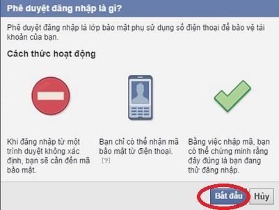 bảo mật Facebook trên điện thoại 14