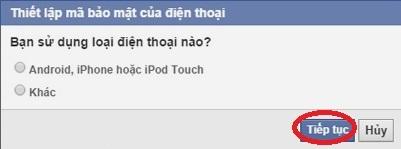 bảo mật Facebook trên điện thoại 15