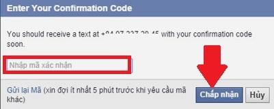 bảo mật Facebook trên điện thoại 16