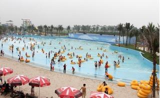 Bãi biển nhân tạo lớn nhất Đông Nam Á ở Hà Nội gây thất vọng toàn tập đợt nghỉ lễ