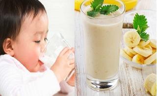5 món đồ uống dễ làm mà ngon tuyệt giúp bé ngủ ngoan trong chớp mắt