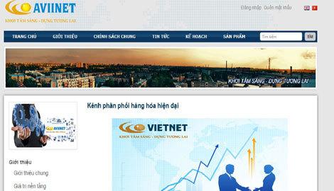 Trang Web của Liên minh tiêu dùng Việt
