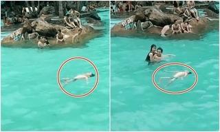 Sự thật sau đoạn clip nhiều người thản nhiên nhìn bé trai đuối nước là gì?