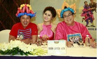Gia Bảo, Thanh Hiền hào hứng ra mắt gameshow thiếu nhi