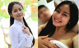 Top 40 Hoa hậu Việt Nam Võ Hồng Ngọc Huệ bị lộ clip nóng với bạn trai
