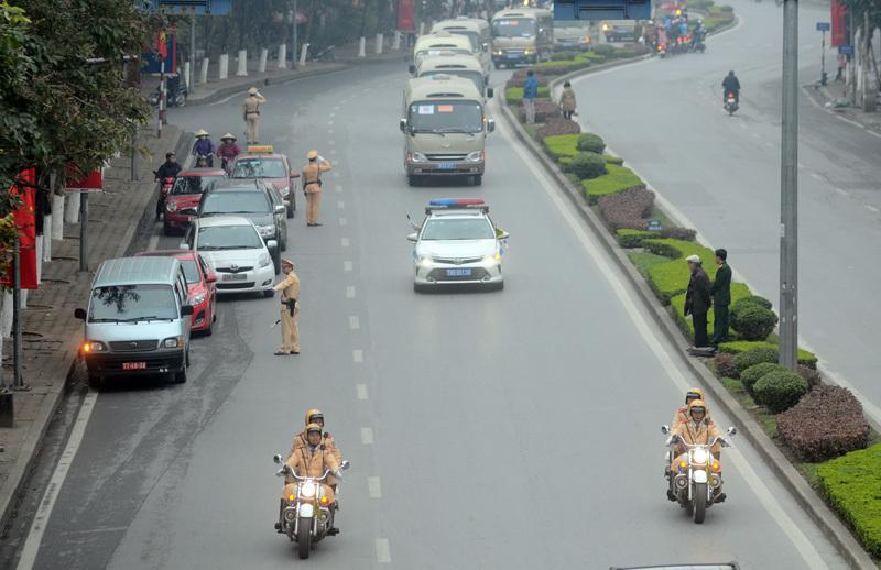 phân luồng giao thông Hà Nội 2