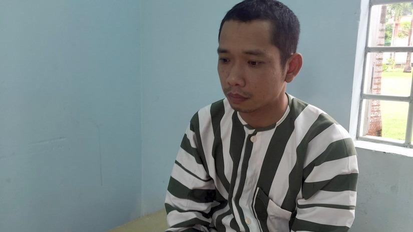 Nghi can gây ra vụ cướp ngân hàng Vietcombank Trà Vinh