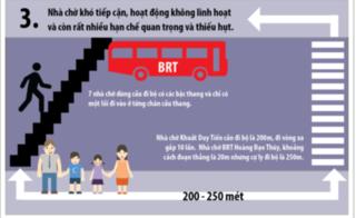 Infographic: Vì sao xe buýt nhanh BRT Hà Nội thất bại?