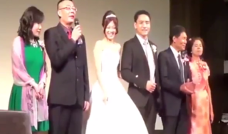 Clip bố dặn con gái trong ngày cưới khiến dân mạng phát cuồng
