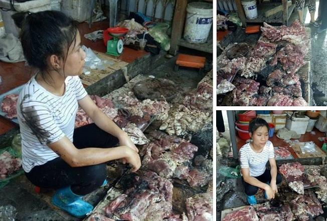 người phụ nữ bán thịt lợn1