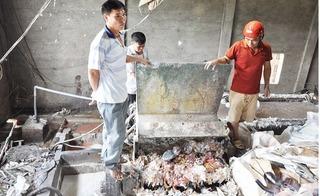 Phát hiện thi thể bị nghiền nát vụn trong máy nghiền bao bì ở Hưng Yên