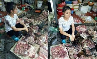 Bài học vị tha đáng suy ngẫm từ chị bán thịt lợn bị đối thủ hắt dầu luyn