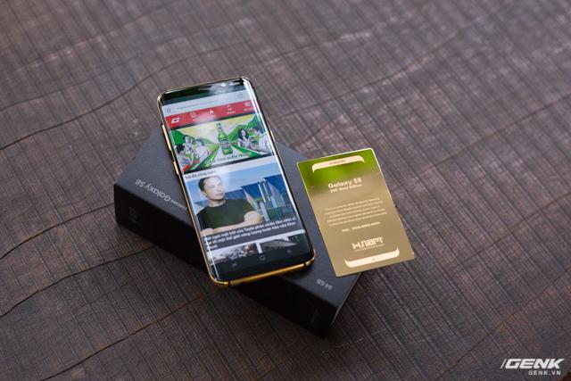 Samsung Galaxy S8 mạ vàng 6