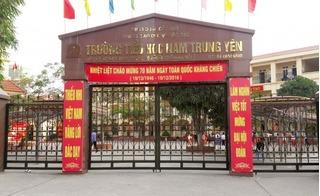 Không khởi tố hình sự vụ việc xe ô tô đâm gãy chân học sinh ở trường Nam Trung Yên