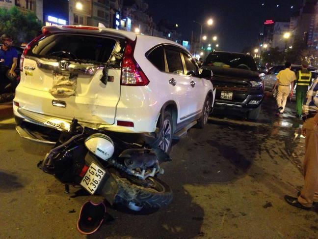 Vụ tai nạn giao thông đã khiến 1 nam thanh niên bị thương nặng