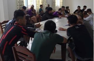 Hẹn nhau trên Facebook, 66 thanh niên tham gia tụ tập đua xe trái phép