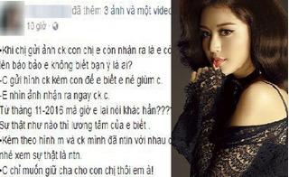 Người yêu thiếu gia Jackson Trần tố á hậu Huyền My nói dối: