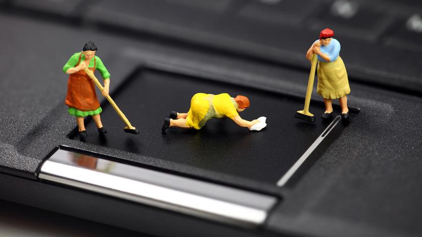 Cách vệ sinh laptop tại nhà 1